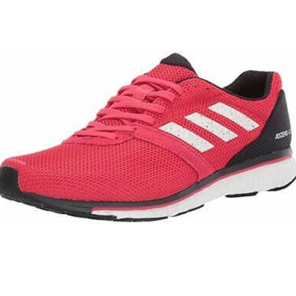 Adidas Adizero 4 red athletic shoes men's Size 8